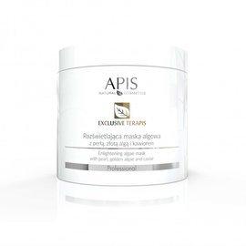 APIS Exclusive terApis rozświetlająca maska algowa z perłą, złotą algą i kawiorem 200 g