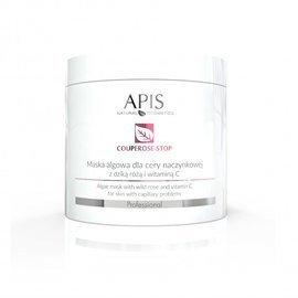Maska algowa dla cery naczynkowej Apis Couperose-Stop z dziką różą i witaminą C 250 g