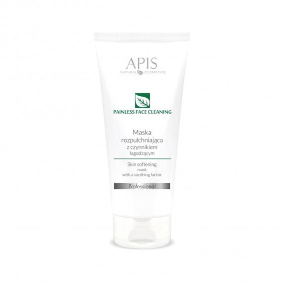 APIS Bezbolesne Oczyszczanie maska rozpulchniająca z czynnikiem łagodzącym 200 ml