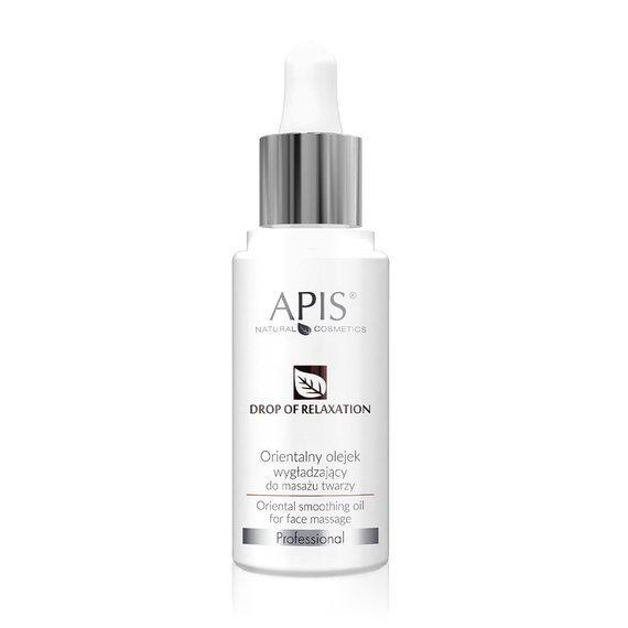 APIS Kropla Relaksu orientalny olejek wygładzający do masażu twarzy 30 ml