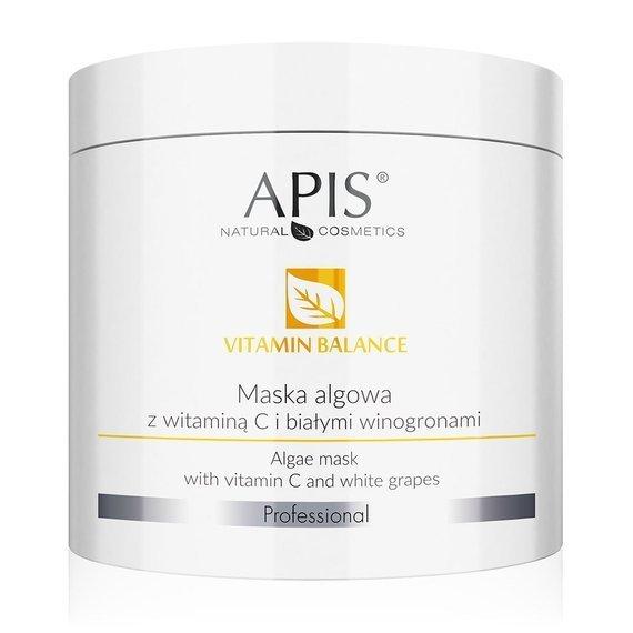 Apis Vitamin Balance maska algowa z witaminą C i białymi winogronami 250 g