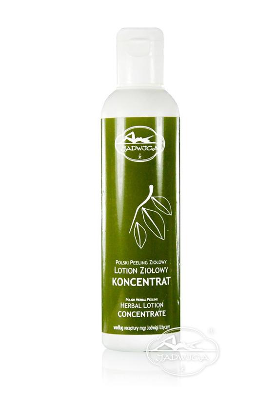 Jadwiga  Polski Peeling Ziołowy - lotion ziołowy - koncentrat 200 ml