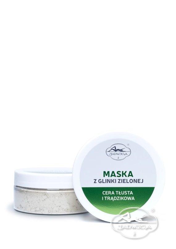 Jadwiga  Saipan Maska z Glinki Zielonej 100 ml