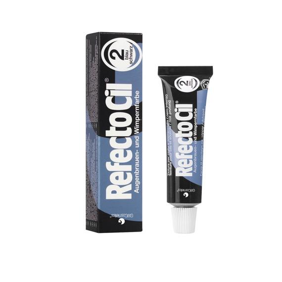 RefectoCil 2.0 Czarno Niebieska – Henna żelowa do koloryzacji brwi i rzęs 15 ml